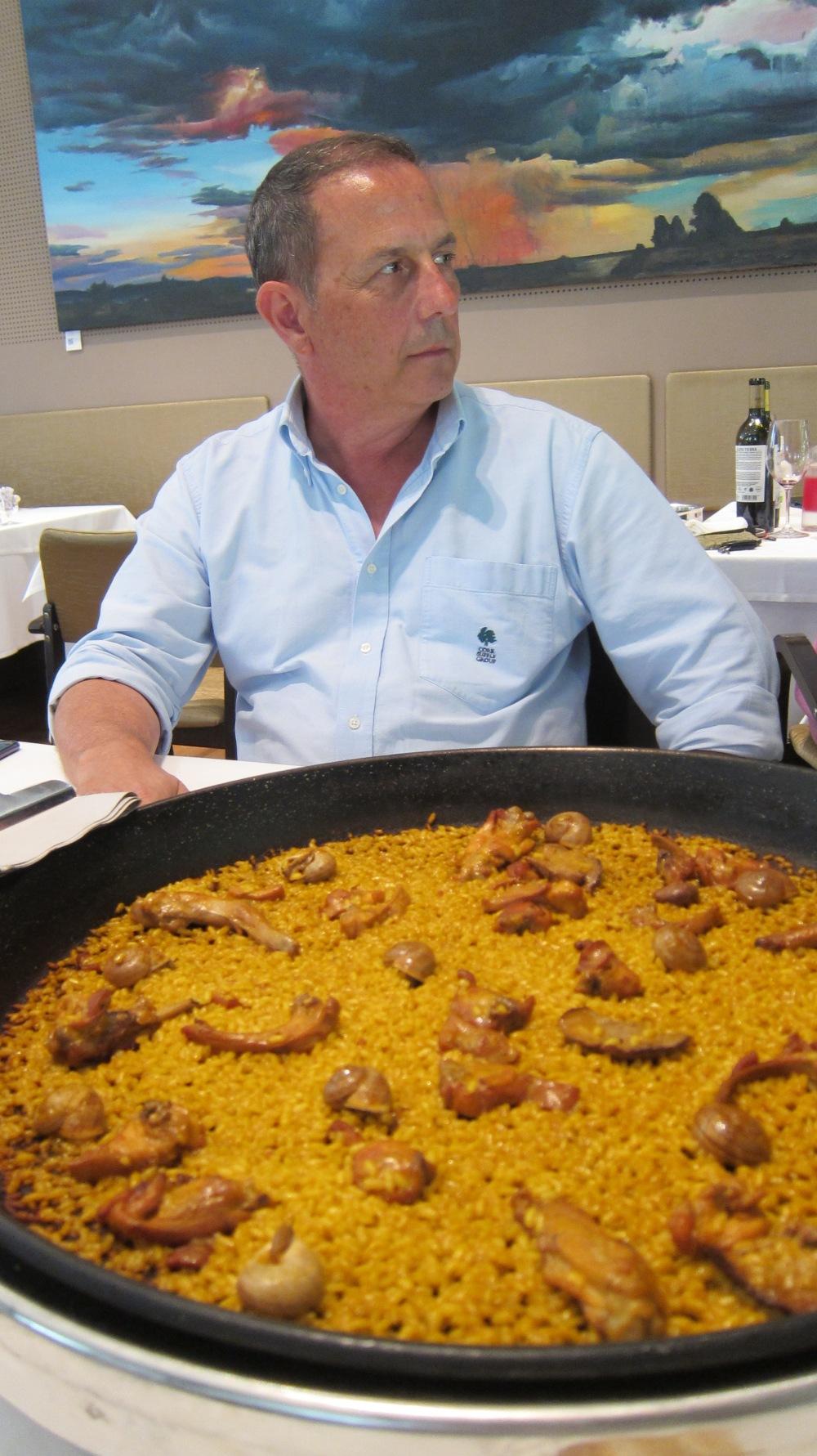 Rafa Poveda arroz Elías